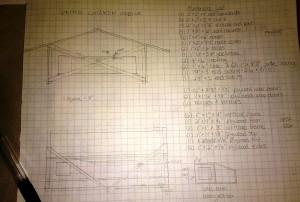 Blueprint of coop design